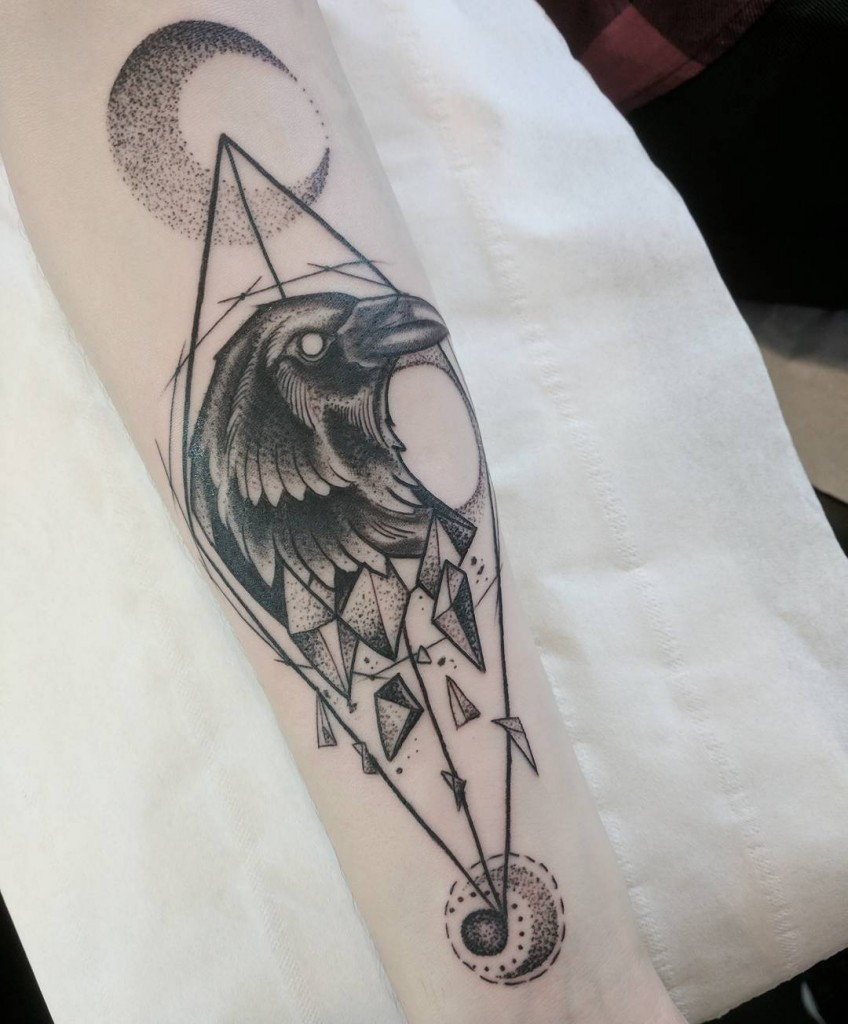 550285213 Raven lower arm piece -